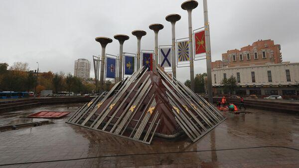 Фонтан Музыка славы в Москве