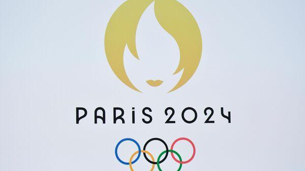 Логотип Олимпийских игр-2024 в Париже