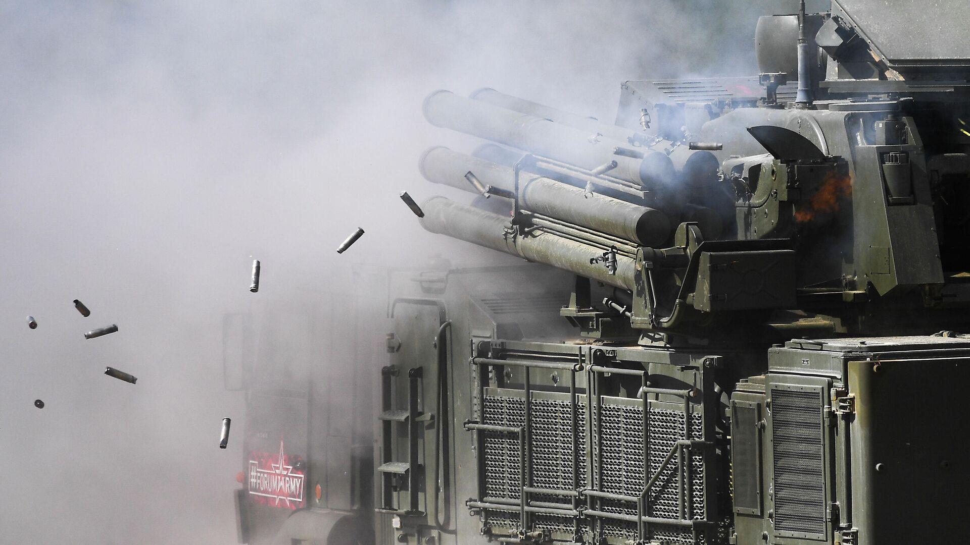 Зенитный ракетно-пушечный комплекс Панцирь-С1  - РИА Новости, 1920, 29.01.2021
