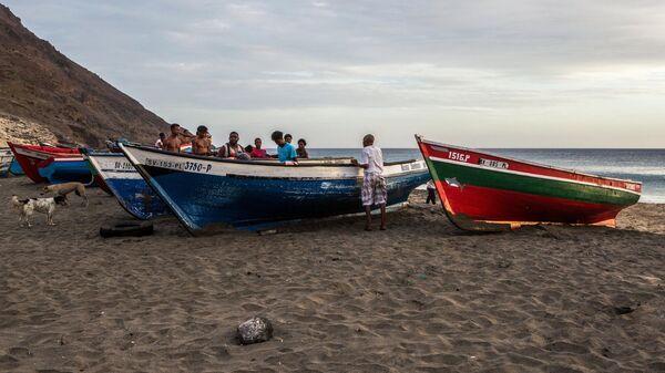 Местные жители архипелага Кабо-Верде