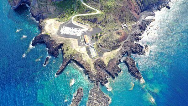 Остров Сан-Мигел, входящий в состав архипелага Азорские острова в Атлантическом океане, в Португалии