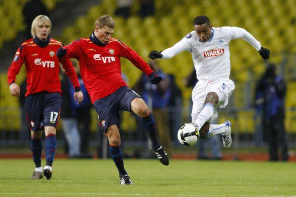 Матч Кубка УЕФА ЦСКА - Лех - 2:1