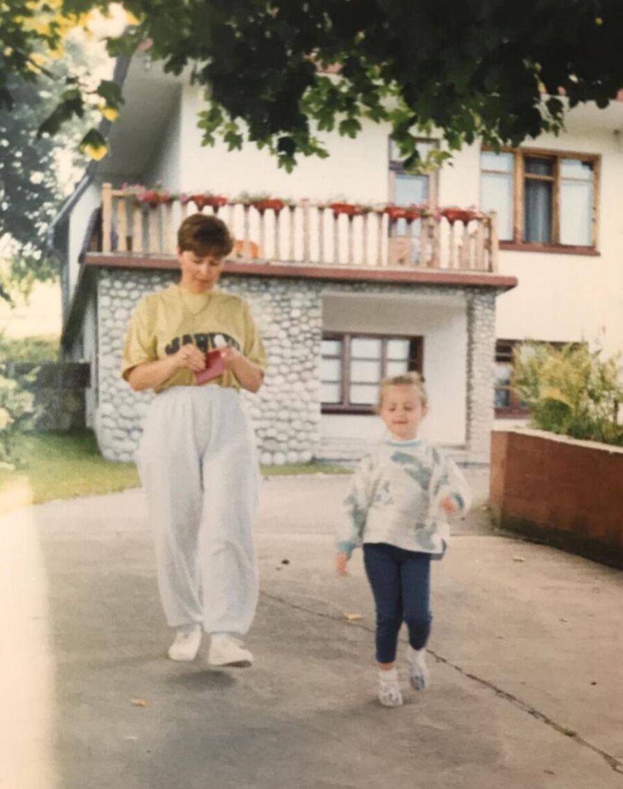 Анна Николаева с мамой