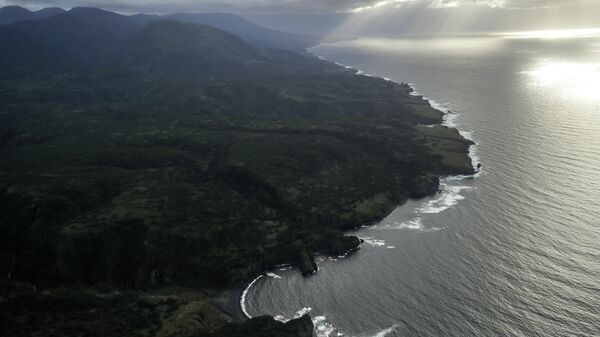 Побережье острова Итуруп