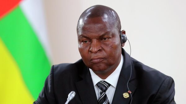 Президент Центральноафриканской Республики Фостен Арканж Туадера