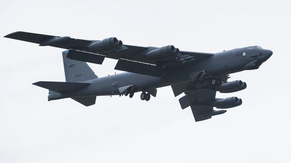 Стратегический бомбардировщик B-52 Stratofortress ВВС США