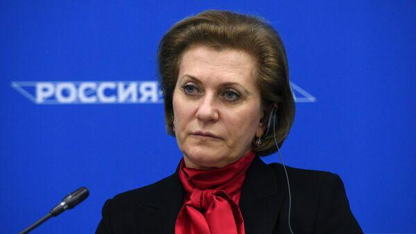 Руководитель Роспотребнадзора Анна Попова на форуме Россия - Африка в Сочи
