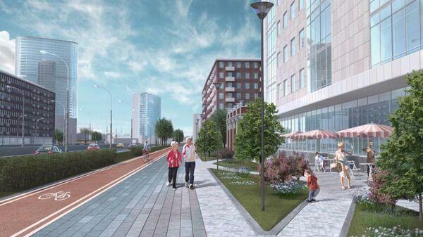 Проект планировки квартала в Тимирязевском районе Москвы
