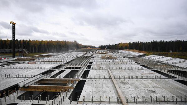 Строительство транспортной развязки на пересечении ЦКАД и автомагистрали М-11 (Москва - Санкт-Петербург)