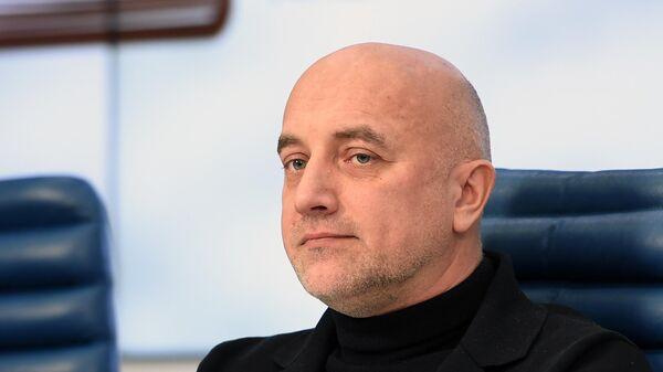 Писатель и общественно-политический деятель Захар Прилепин
