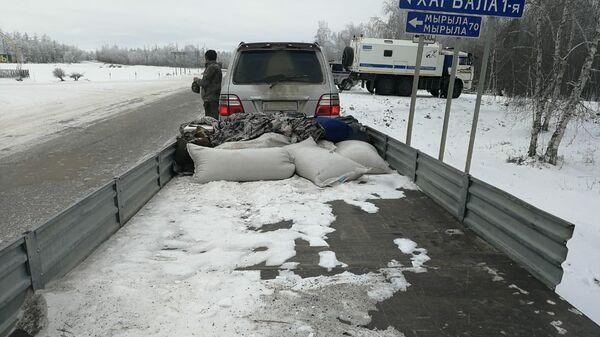 В Якутии сотрудниками ДПС выявлена незаконная охота. 28 октября 2019