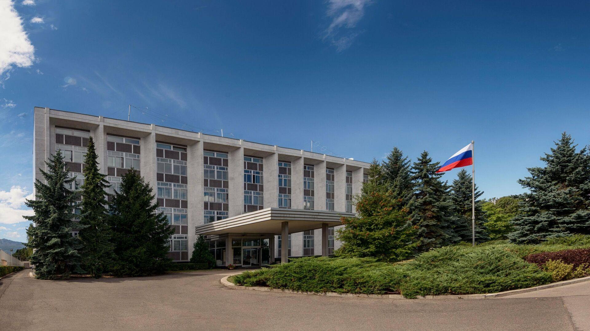 Здание Посольства Российской Федерации в Болгарии - РИА Новости, 1920, 23.09.2020