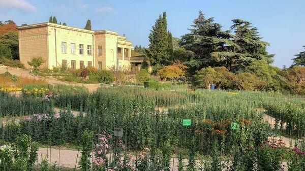 Крым. Никитский ботанический сад. Верхний парк