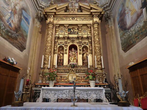Остров Монте-Изола, Церковь Мадонна делла Чериола