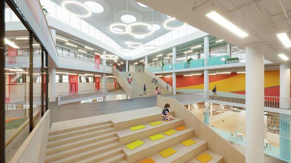 Проект образовательного центра в ЖК Испанские кварталы в новой Москве