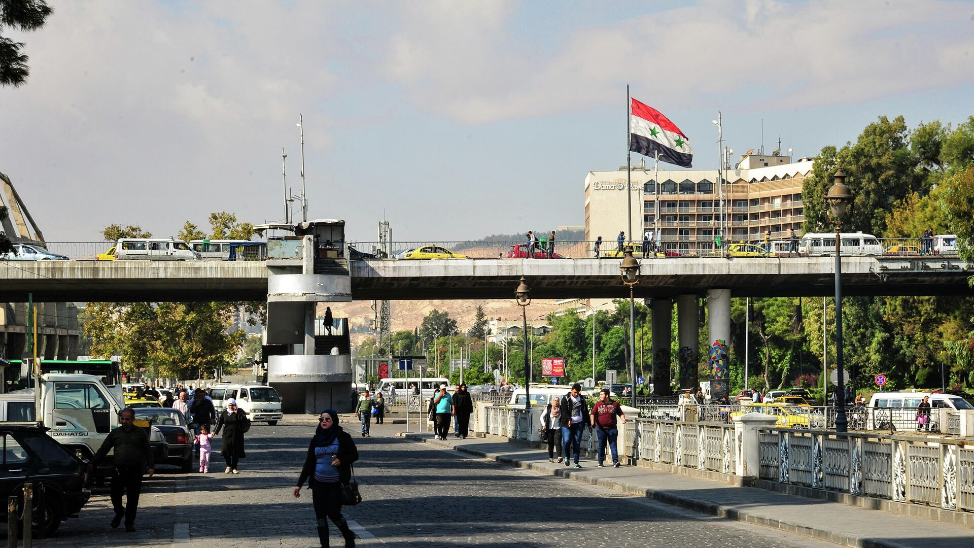 В Дамаске взорвался автобус с военными