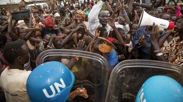Протест в Южном Судане