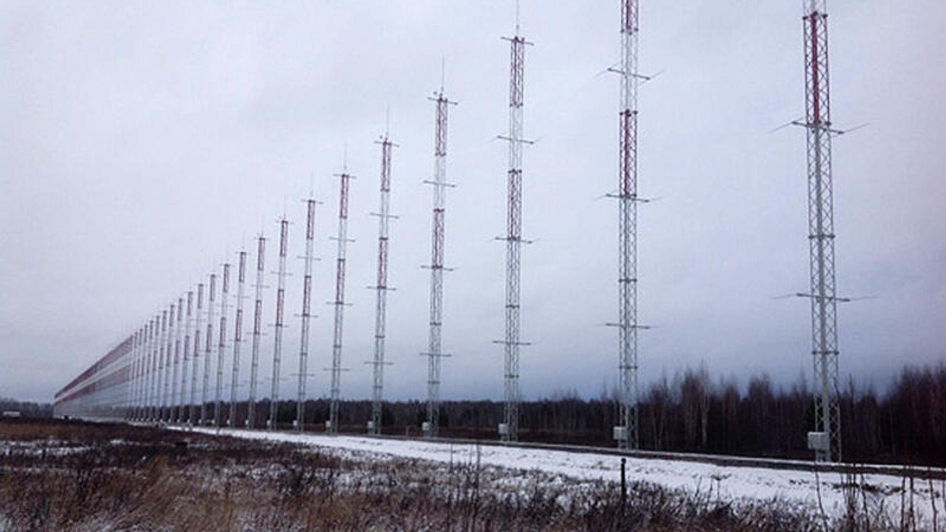 Приемная часть радиолокационной станции Контейнер - РИА Новости, 1920, 01.12.2020