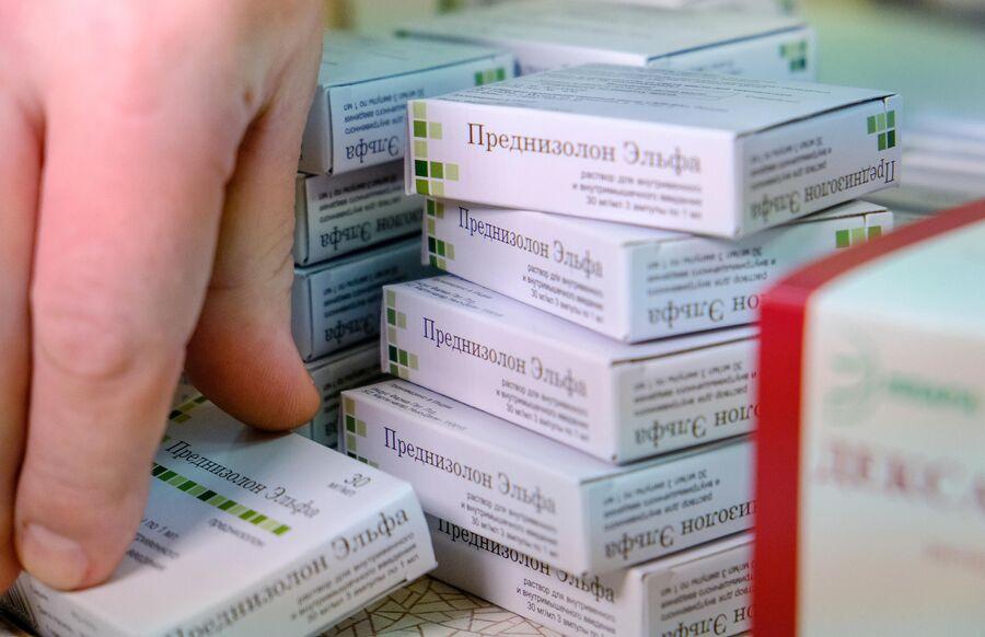 Лекарственный препарат преднизолон