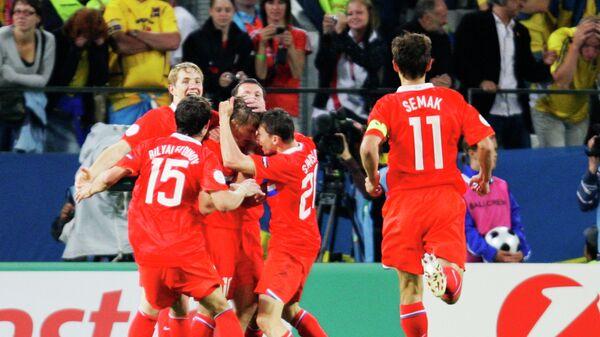 Футболисты сборной России на ЕВРО-2008