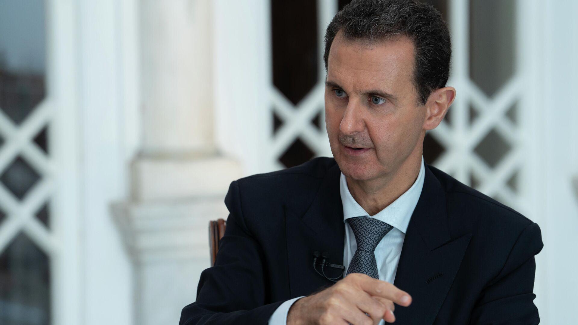 Президент Сирии Башар Асад - РИА Новости, 1920, 08.10.2020