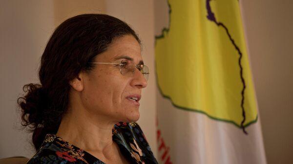 Председатель исполкома Сирийского демократического совета (SDC) Ильхам Ахмед