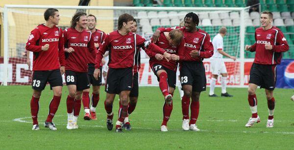 Футболисты Москвы