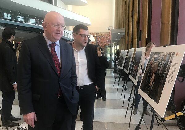 Открытие выставки победителей конкурса им. Андрея Стенина в Нью-Йорке