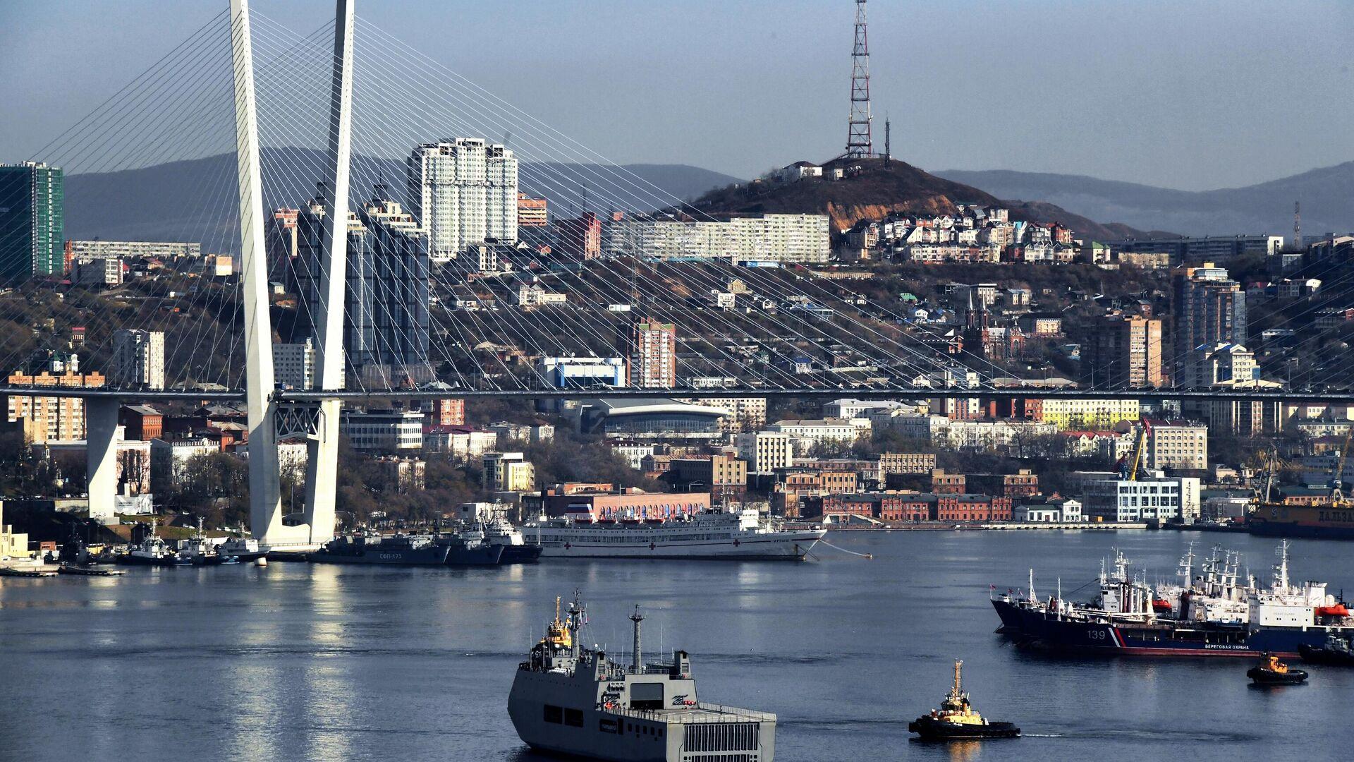 """Подрядчик """"треснувшего по швам"""" дома во Владивостоке починит его фасад"""