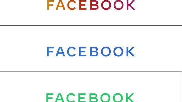 Новый логотип компании Facebook