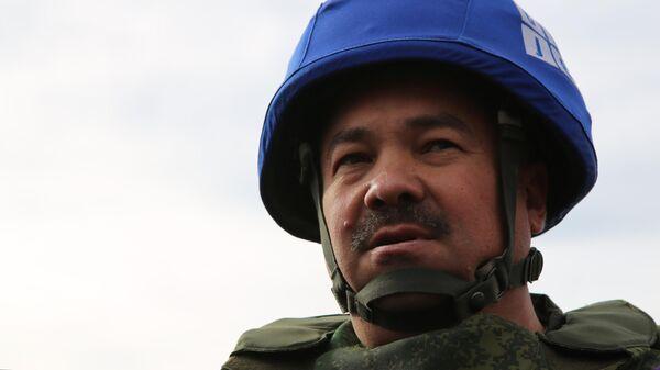 Руководитель представительства ДНР в Совместном центре по контролю и координации за режимом прекращения огня Руслан Якубов