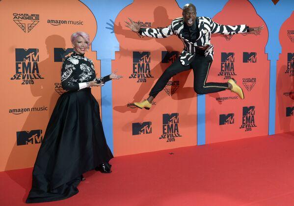 Актер Терри Крюс на церемонии награждения MTV Europe Music Awards