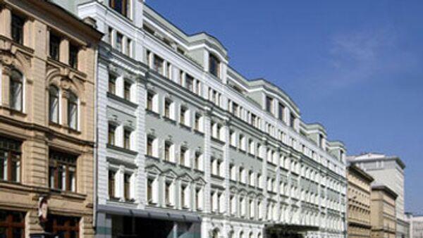 Гостиница Петр I на Неглинной улице в Москве