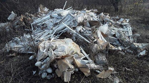 Свалка ртутных ламп обнаружена экологами в Альметьевском районе Татарстана