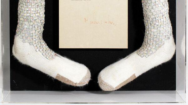 Носки Майкла Джексона из личной коллекции его менеджера Фрэнка Дилео