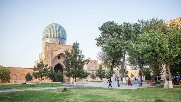 Мечеть Биби-Ханым в Самарканде