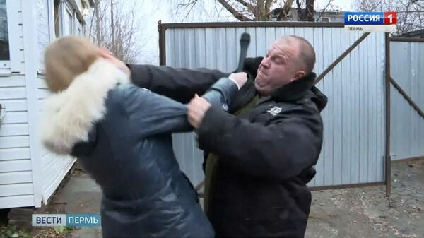 Нападение на журналистку ВГТРК в Перми
