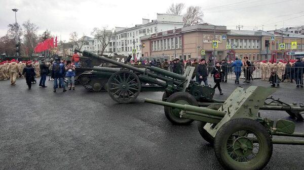 Парад Памяти в Самаре. 7 ноября 2019