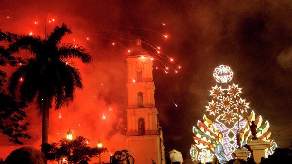 Празднование Рождества на Кубе