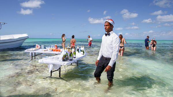 Рождественская вечеринка в Доминикане