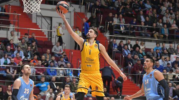 Баскетбол. Евролига. Матч Зенит - Химки