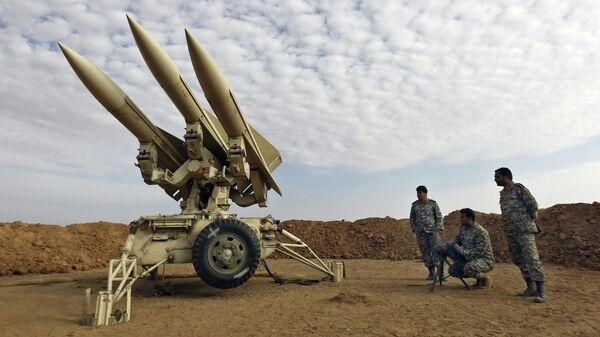 Военнослужащие иранской армии во время учений