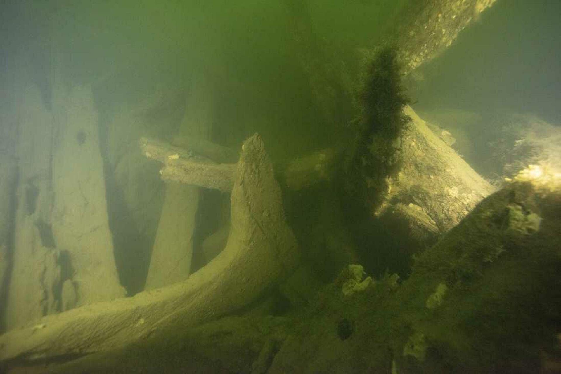 Обломки военного корабля, найденные у берегов города Ваксхольм в Швеции - РИА Новости, 1920, 17.09.2020
