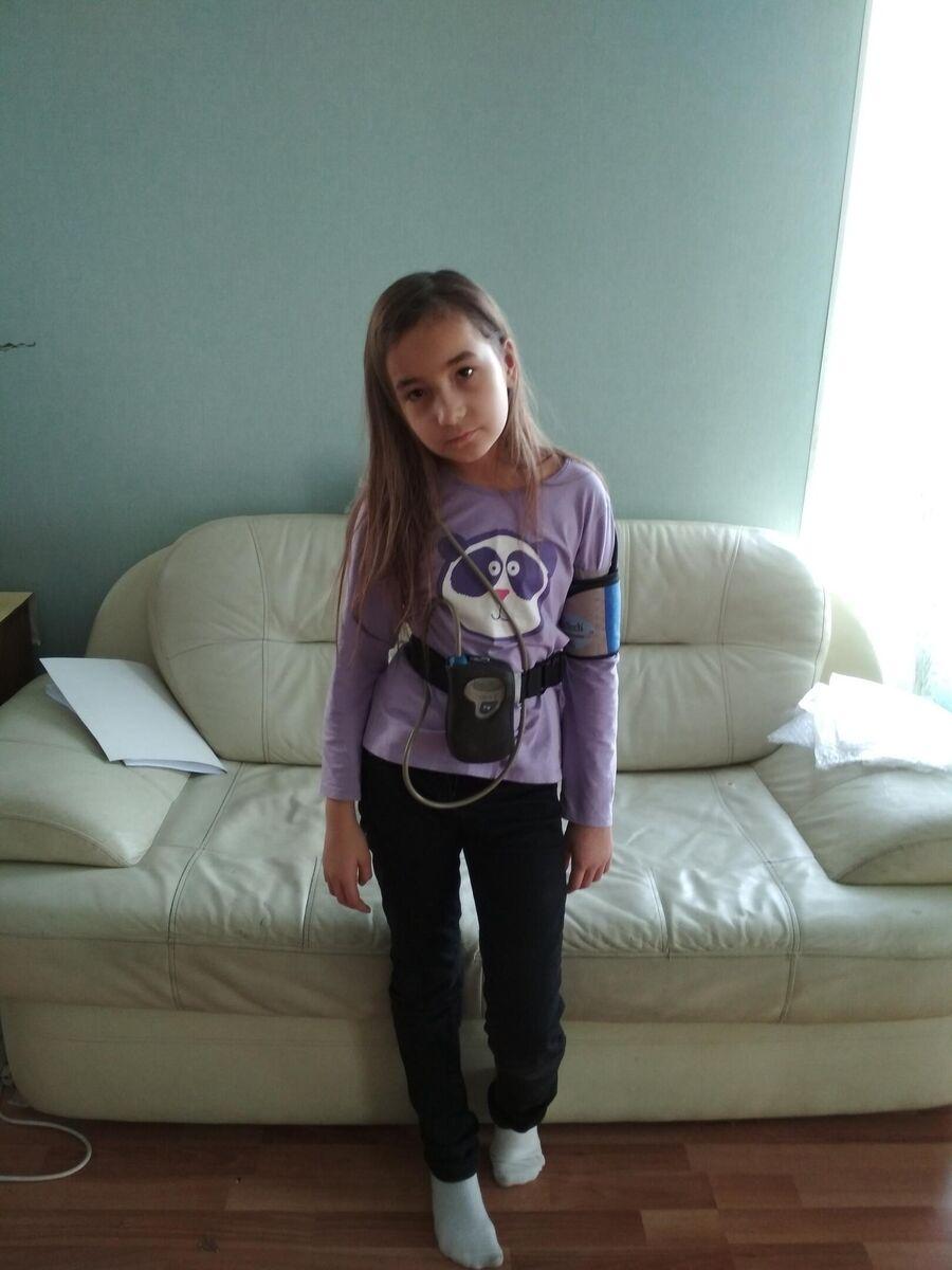 Арина Ушакова в больнице
