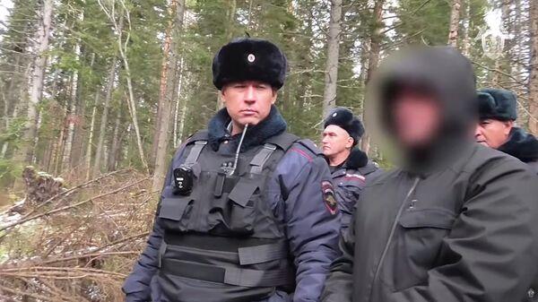 Следственные действия по делу об убийстве бывшего главы Киселевска. Стоп кадр видео СК РФ