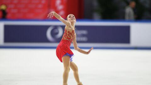 Фигуристка Анна Щербакова (Россия)