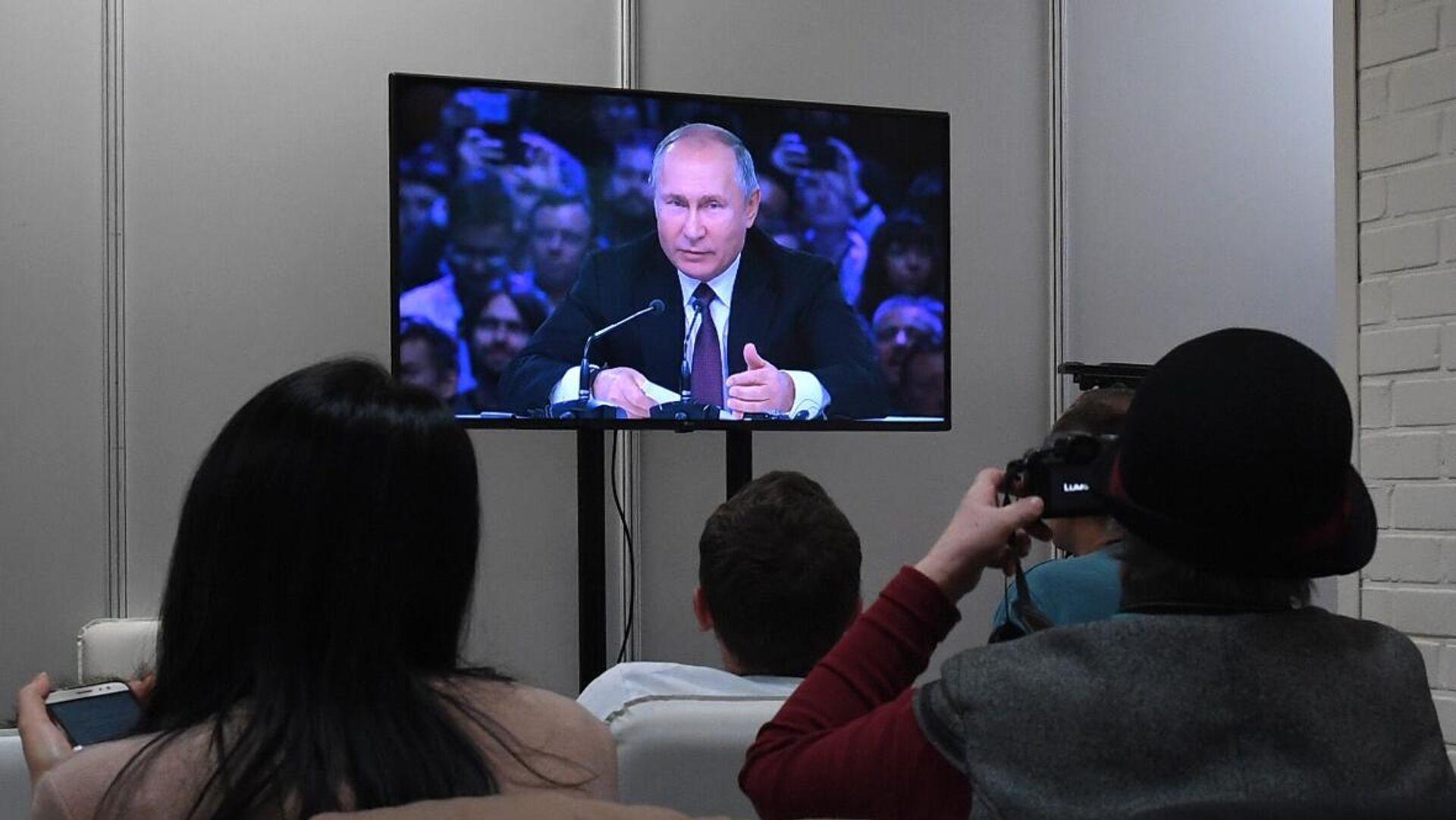 Прямая трансляция президента России Владимира Путина на конференции по искусственному интеллекту - РИА Новости, 1920, 29.06.2021