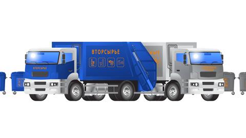 Вывоз раздельно накопленных ТКО