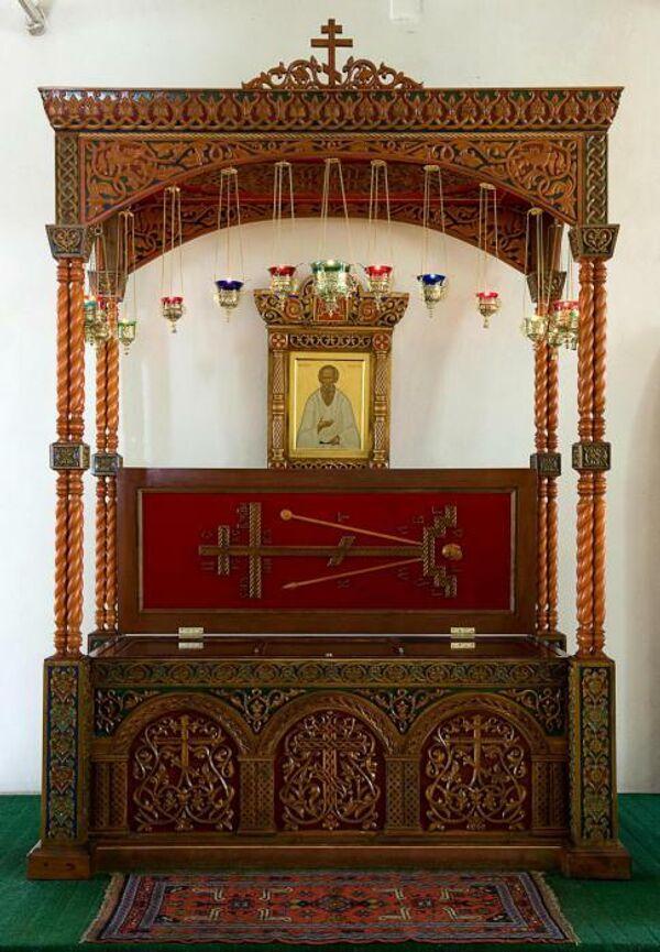 Мощи святого праведного Феодора Томского