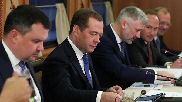 Рабочая поездка премьер-министра РФ Д. Медведева в Сибирский федеральный округ
